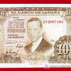 Billetes españoles: BILLETE 100 PESETAS 1953 , MBC++ , SERIE 1V , T103. Lote 22996968