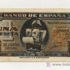 Billetes españoles: 1 PESETA 4-9-1940 FUSTER 416 EBC-. Lote 26684204