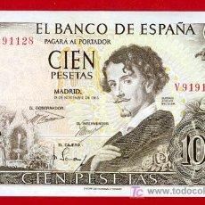Billetes españoles: BILLETE 100 PESETAS 1965 , MBC+ , SERIE V , T128. Lote 25051365