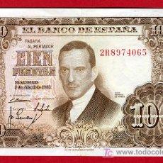 Billetes españoles: BILLETE 100 PESETAS 1953 , MBC+ , SERIE 2R , T065. Lote 25067141