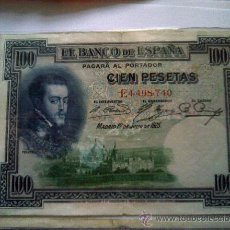 Billetes españoles: BILLETE 100 PESETAS 1925. Lote 27433710