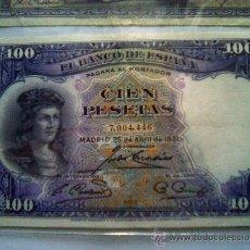 Billetes españoles: BILLETE 100 PESETAS 1931. Lote 27433731