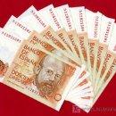 Billetes españoles: LOTE DE 10 BILLETES DE 200 PESETAS 1980 , CORRELATIVOS , PLANCHA , SERIE ESPECIAL 9A , T01-10. Lote 23835855