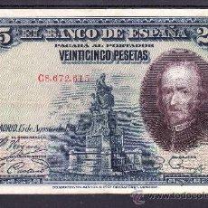 Billetes españoles: .BILLETE ESPAÑA 1928 - 25 PTA CALDERON DE LA BARCA SERIE C BC-, . Lote 22939988