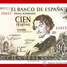 Billetes españoles: BILLETE 100 PESETAS 1965 , MBC , SERIE 1A , T947. Lote 24407107