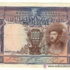 Billetes españoles: BONITOS BILLETES DE MIL PESETAS DE CARLOS I DEL AÑO 1925. Lote 30173291