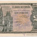 Billetes españoles: 2 PESETAS DE ABRIL DE 1938 SERIE E-993 PRECIOSO (PLANCHA). Lote 28960214