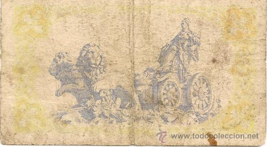 Billetes españoles: 1 peseta de 1937 República serie C-278 (muy rara) - Foto 2 - 28569163