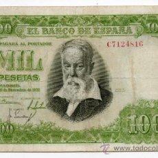 Billetes españoles: JOAQUÍN SOROLLA. 1000 PESETAS. 31 DE DICIEMBRE DE 1951.. Lote 30967110