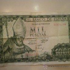 Billetes españoles: BILLETE DE MIL PESETAS. Lote 32567646