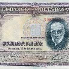 Billetes españoles: BILLETE 100 PESETAS. RAMÓN Y CAJAL. AÑO 1935. Lote 34412602