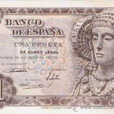 Billetes españoles: BILLETE 1 PESETA - 19 DE JUNIO 1948 - DAMA DE ELCHE - S/C -. Lote 35732689