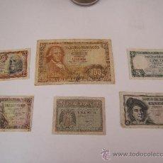 Billetes españoles: LOTE BILLETES FRANCO. Lote 36365919