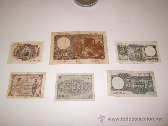 Billetes españoles: LOTE BILLETES FRANCO - Foto 2 - 36365919