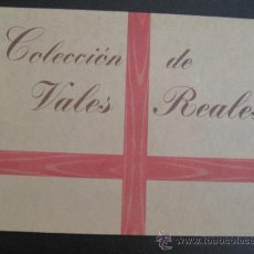 Billetes españoles: COLECCION DE VALES REALES -. Lote 38610197
