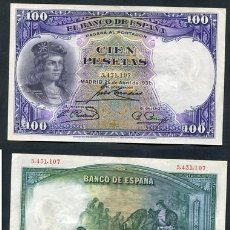 Billetes españoles: BILLETE ESPAÑA - 100 PESETAS - 1931 - GONZALO FERNANDEZ DE CORDOBA. Lote 222413265