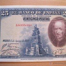 Billetes españoles: 25 PESETAS 1928 BC. Lote 39874143
