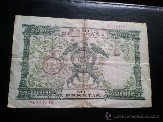 Billetes españoles: BILLETE 1000 PESETAS 1957 REYES CATOLICOS - Foto 3 - 40437817