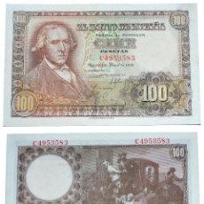 Billetes españoles: ESPAÑA.100 PESETAS. 2 DE MAYO 1948. FRANCISCO BAYEU. EBC+. Lote 40945610