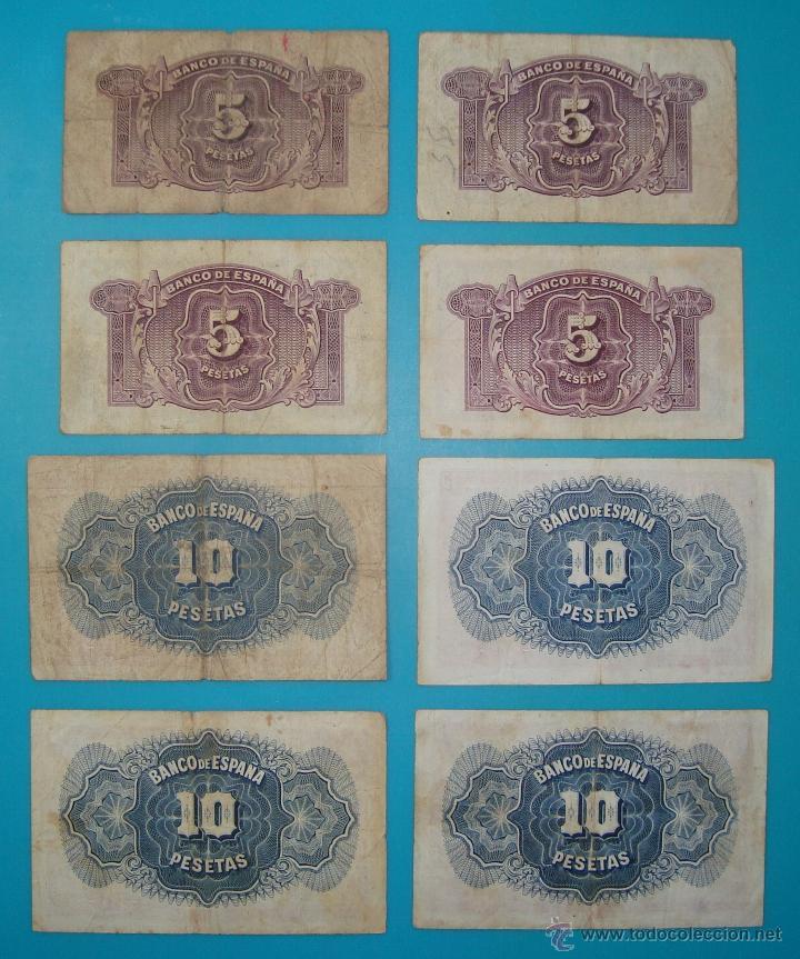 Billetes españoles: LOTE DE 36 BILLETES DE PESETAS ESPAÑA DESDE 1925 HASTA 1965 - Foto 8 - 41253794