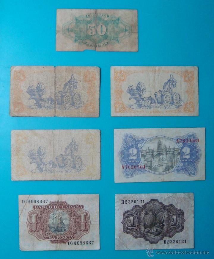 Billetes españoles: LOTE DE 36 BILLETES DE PESETAS ESPAÑA DESDE 1925 HASTA 1965 - Foto 10 - 41253794