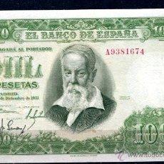 Billetes españoles: C.R 1000 PTS 1951 SERIE A EBC/EBC+. Lote 42361859