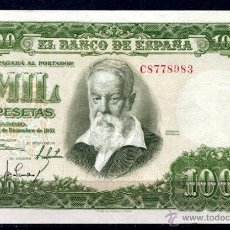 Billetes españoles: C.R 1000 PTS 1951 SERIE C EBC. Lote 42362045