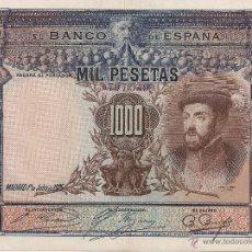 Billetes españoles: 1000 PESETAS DE 1925 SIN SERIE-549 MUY BIEN CONSERVADO. Lote 42564142