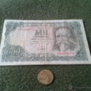 Billetes españoles: BILLETE 1000 MIL PESETAS 17 SEPTIEMBRE 1971 SERIE 6P2296670 JOSE ECHEGARAY. Lote 42904177