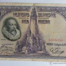 Billetes españoles: BILLETE 100 PESETAS 1928. Lote 42962626