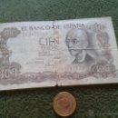 Billetes españoles: BILLETE DE 100 PESETAS 17 NOVIEMBRE 1970 SERIE 7Q9672149 MANUEL DE FALLA TENGO MAS BILLETES VERLOTES. Lote 43239255