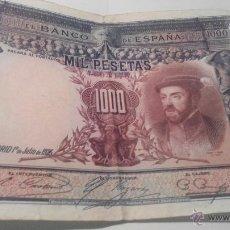 Billetes españoles: BILLETE DE 1000 PESETAS CARLOS I 1925. Lote 45058773