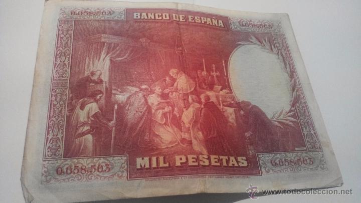 Billetes españoles: Billete 1000 pesetas 1928 Sin serie - Foto 2 - 45058809