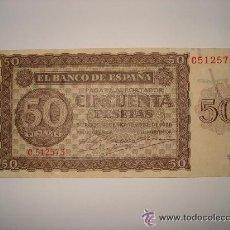 Billetes españoles: 50 PESETAS 1936 - BIEN CONSERVADO - BILLETE. Lote 45186286