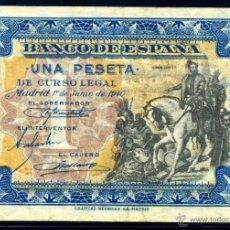 Billetes españoles: 1 PESETA JUNIO 1940 EBC. Lote 45922120