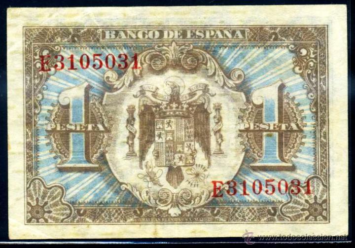 Billetes españoles: 1 PESETA JUNIO 1940 EBC - Foto 2 - 45922120