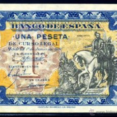 Billetes españoles: 1 PESETA JUNIO 1940 EBC +. Lote 45922151