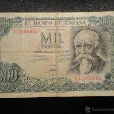 Billetes españoles: LOTE DE 11 BILLETES ESPAÑOLES DE DISTINTAS ÉPOCAS. Lote 45974162