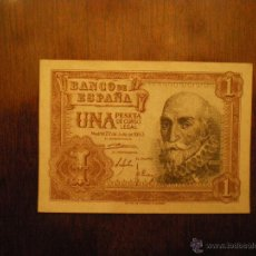 Billetes españoles: BILLETE DE UNA PESETA-MADRID 22 DE JULIO DE 1953-SERIE G. Lote 47643975