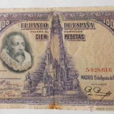 Billetes españoles: BILLETE 100 PESETAS 1928 5928616. Lote 48014885