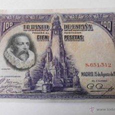 Billetes españoles: BILLETE 100 PESETAS 1928 8651312. Lote 48018037