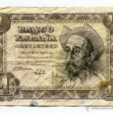 Billetes españoles - Billete de1 peseta Noviembre 1951 serie C - 48135226