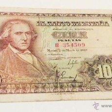Billetes españoles: 100 PESETAS 1948 FRANCISCO BAYEU SERIE B354569. Lote 48326012