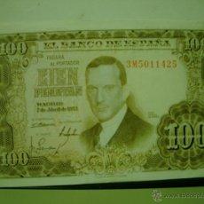 Billetes españoles: BILLETE DE CIEN 100 PESETAS JULIO ROMERO. Lote 48389486