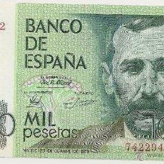 Billetes españoles: 1000 PESETAS DE 1979 SIN SERIE-942 SIN CIRCULAR- (RARO). Lote 48703570