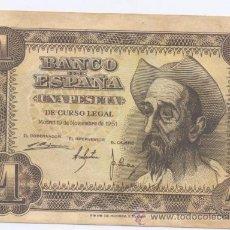 Billetes españoles: 1 PESETA- 19-11-1951-SC. Lote 49254614