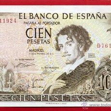 Billetes españoles: BILLETE 100 PESETAS 1965 , SIN CIRCULAR , SERIE D , ORIGINAL , T924. Lote 50355891