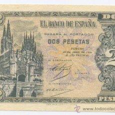 Billetes españoles: 2 PESETAS- 30-04-1938-SC. Lote 49638005