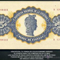 Billetes españoles: BILLETE ESPAÑOL DE FIANZAS 5 PESETAS DE 1940 SC - Nº1. Lote 130079407