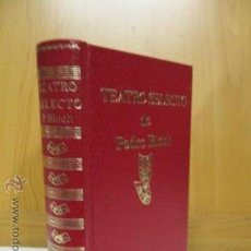 Billetes españoles: TEATRO SELECTO DE PEDRO BLOCH. ESCELICER 1983. Lote 50987188